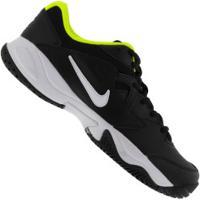 Tênis Nike Court Lite 2 - Masculino - Preto/Verde Cla