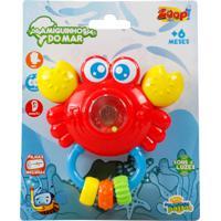 Chocalho Zoop Toys Sirizinho Colorido