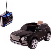 Carrinho Elétrico Belfix Bentley Bentayga Com Controle Remoto 12V