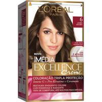 Coloração Imédia Excellence L'Oréal Paris 6 Louro Escuro - Unissex-Incolor