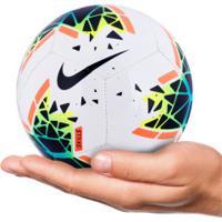 Minibola De Futebol De Campo Nike Skills - Branco/Azul Esc