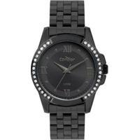 Relógio Condor Feminino - Feminino-Preto
