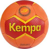 Bola Handebol De Praia Profissional / Beach Handball Kempa Dune - Tam.3 - Unissex-Laranja+Vermelho