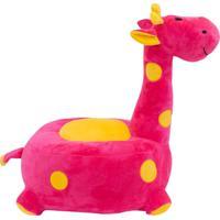 Pelúcia Minas De Presentes Girafa Pink - Kanui