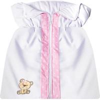 Porta Bebê Padroeira Baby Ursa Carinho Rosa