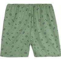 Shorts Azu Esportivo Masculino