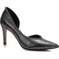 Scarpin Shoestock Glam Salto Alto Noiva - Feminino-Prata