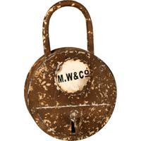 Porta-Chaves Decorativo De Metal Cadeado