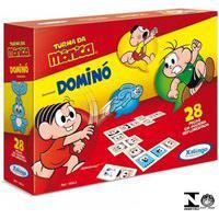 Dominó Turma Da Mônica 28 Peças 10543 Xalingo