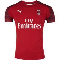 Camisa De Treino Milan 19/20 Puma - Masculina - Vermelho