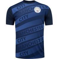 Camiseta Manchester City Saymon - Masculina - Azul Escuro