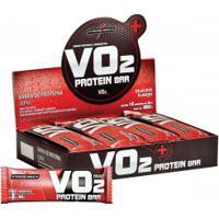 Barra De Proteína Integralmédica V02 Protein Bar - Morango - Cx 12 Unidades