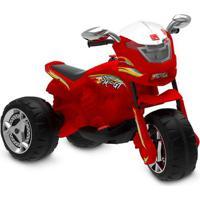 Triciclo Elétrico - 6V - Super Moto Gt - Vermelha - Bandeirante
