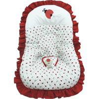 Capa Para Bebe Conforto Joaninha Atelie Baby E Cia Vermelho