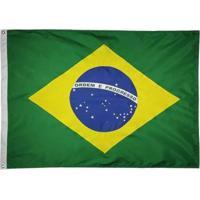 Bandeira Oficial Do Brasil 64 X 45 Cm - 1 Pano - Unissex