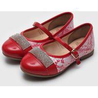 Sapatilha Kidy Infantil Bailarina Soft Vermelha