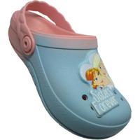 Clog Infantil Disney Frozen Fairtytale Feminino - Feminino-Rosa+Azul