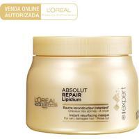 Máscara De Tratamento L'Oréal Professionnel Absolut Repair Lipidium 500G - Unissex-Incolor