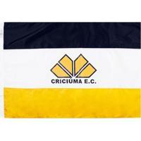Bandeira Oficial Do Criciúma 64 X 45 Cm - Unissex