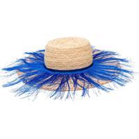 Forte Forte Fringed Sun Hat - Neutro