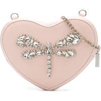 Monnalisa Bolsa Tiracolo Heart - Rosa