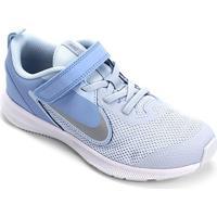 Tênis Infantil Nike Downshifter 9 Velcro Psv - Unissex-Azul Claro