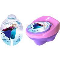 Troninho Styll Baby Frozen Disney Lilás