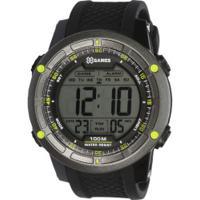 9273375e4e0 Relógio Digital X Games Xmppd421 - Masculino - Preto Verde