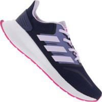 Tênis Adidas Runfalcon K Gs Feminino - Infantil - Azul Esc/Rosa