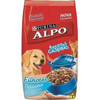 Ração Para Cães Alpo Receitas Caseiras Filhotes Sabor Carne, Leite E Cereais 10Kg