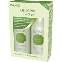 Kit Inoar Gengibre Duo Shampoo 250 Ml + Condicionador 250Ml - Feminino-Incolor