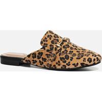 Mule Feminino Milano Jaguar Camel 11194
