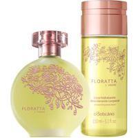 Combo Floratta L'Amore: Des. Colônia + Licor Hidratante Corporal