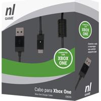Cabo Para Xbox One- Preto- 260Cm- Usb- Newexnewex