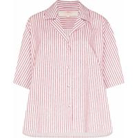 By Any Other Name Camisa Listrada - Rosa