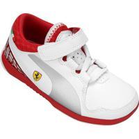 Tênis Infantil Puma Valorosso Scuderia Ferrari 5 - Masculino
