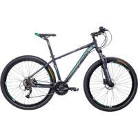 Bicicleta Aro 29 Mtb Shimano Freio A Disco Suspensão Gara - Unissex