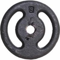 Anilha De Ferro Fundido Yangfit Pintada Musculação - 5Kg