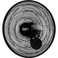 Ventilador Oscilante Parede Biv 50Cm Pp Preto 140W Teto Preto