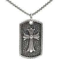 Colar French Cross Metal