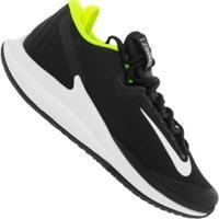 Tênis Nike Court Air Zoom Zero Hc - Masculino - Preto/Verde Cla