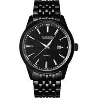 Relógio Curren Analógico 8052 Preto