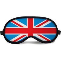 Máscara De Dormir Tritengo Reino Unido - Unissex-Vermelho+Azul