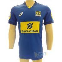 Camisa Asics Cbv Masculina Jogo Sn 17/18 Azul - Asics