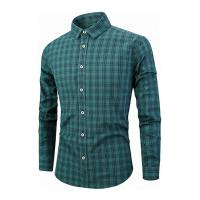 Camisa Xadrez Lexington Masculina - Verde