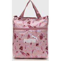 Bolsa Puma Core Seasonal Shopper Rosa