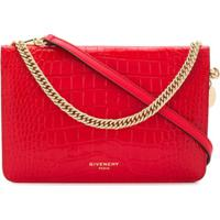 Givenchy Bolsa Transversal Cross3 - Vermelho