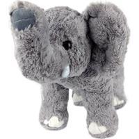 Elefante De Pelúcia Em Pé M