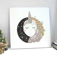Placa Decorativa - Littleunicorn
