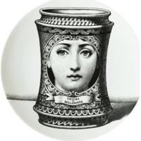 Fornasetti Prato De Porcelana - Branco